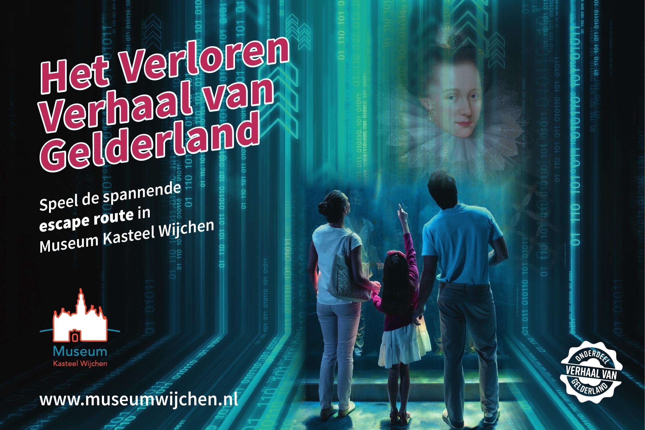Speel met het hele gezin de spannende escape route bij Museum Kasteel Wijchen
