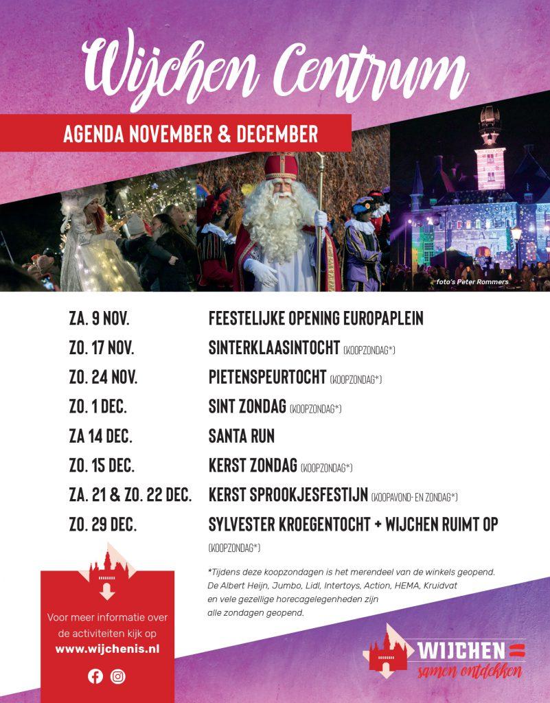 Wijchen Agenda November December