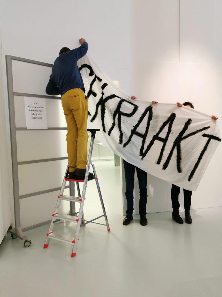 Kunstluis kraakt Museum Het Valkhof