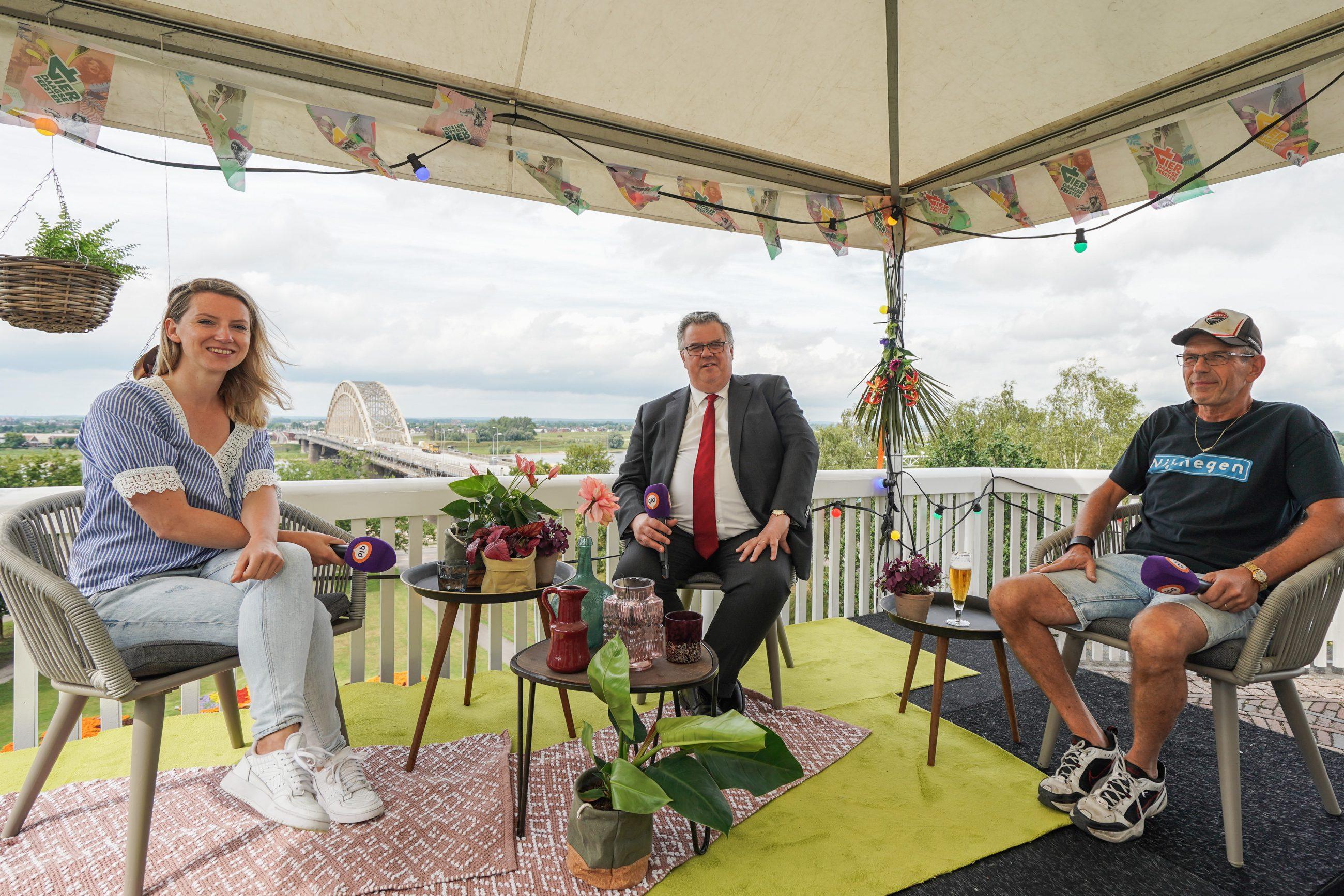 Vier de Vierdaagsefeesten met Omroep Gelderland