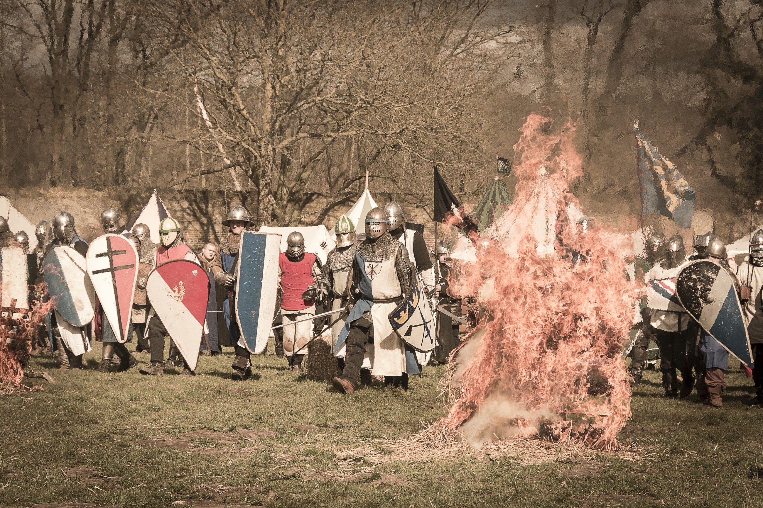 Waan je nu in laatmiddeleeuwse sferen!  Middeleeuwsfeest op Kloster Graefenthal, 3 & 4 oktober